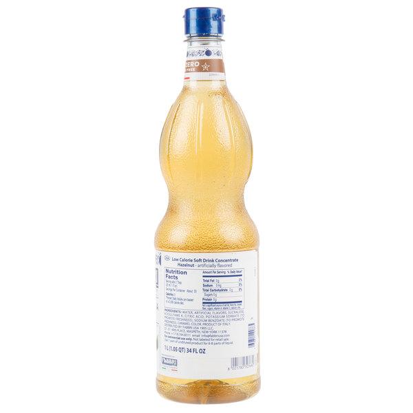 1 Liter Sugar-Free Hazelnut Mixybar Syrup
