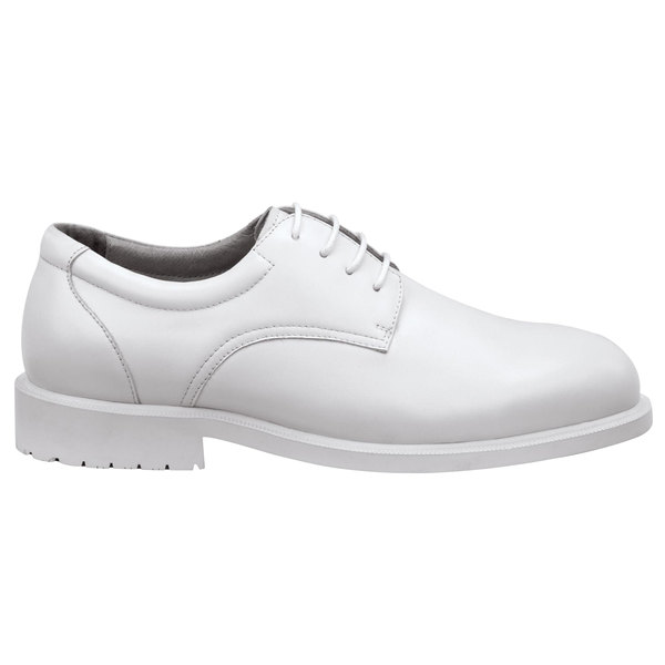 SR Max SRM3540 Arlington Men's White Soft Toe Non-Slip Oxford Dress Shoe