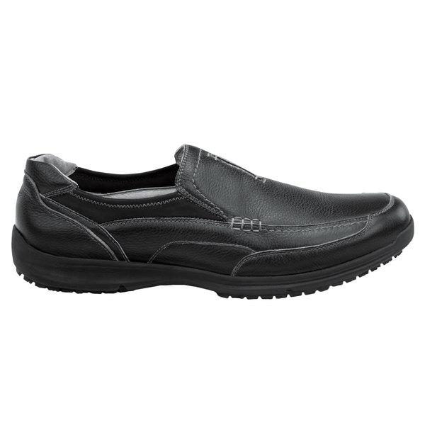 SR Max SRM3650 Charleston Men's Black Soft Toe Non-Slip Casual Shoe