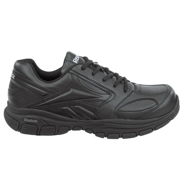Reebok SRB102 Senexis MaxTrax Women's Black Soft Toe Non-Slip Athletic Shoe