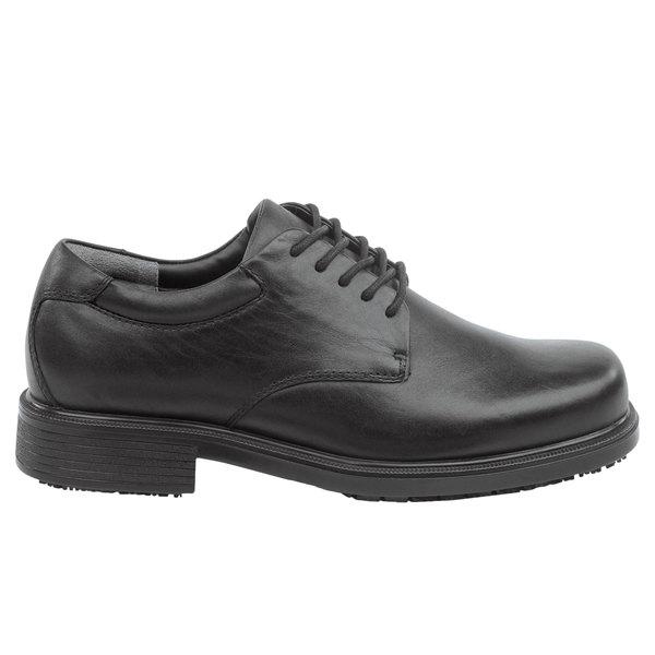 Rockport Works SRK6585 Huron Men's Black Soft Toe Non-Slip Oxford Dress Shoe