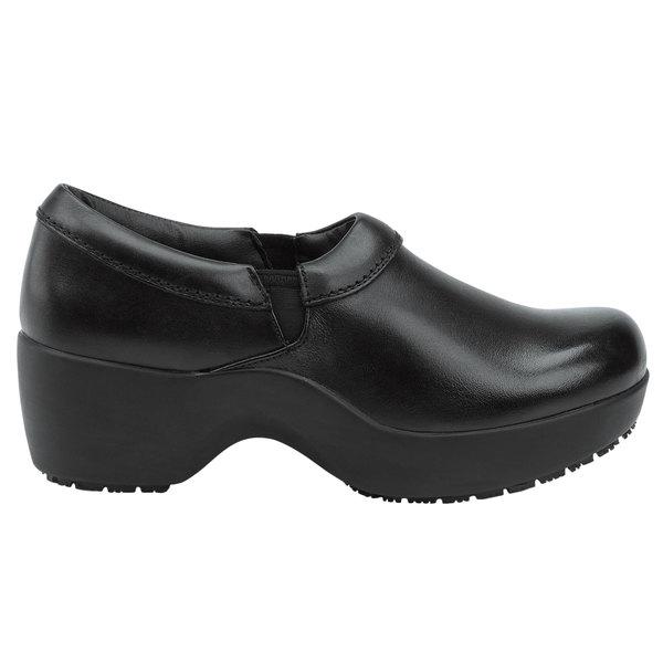 SR Max SRM132 Geneva Women's Black Soft Toe Non-Slip Casual Shoe