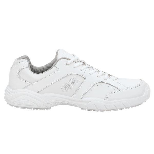 SR Max SRM1540 Seattle Men's White Soft Toe Non-Slip Athletic Shoe