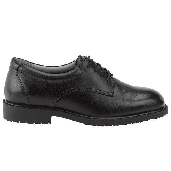 SR Max SRM3500 Arlington Men's Black Soft Toe Non-Slip Oxford Dress Shoe