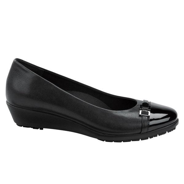 SR Max SRM525 Isabella Women's Black Soft Toe Non-Slip Pump Dress Shoe