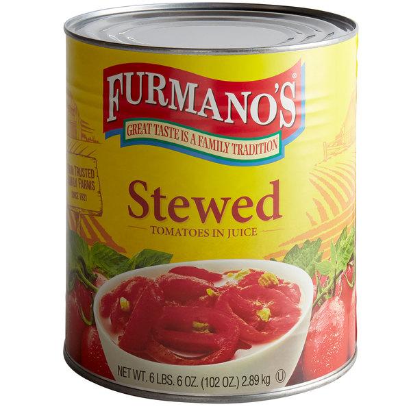 Furmano's Stewed Tomatoes #10 Can
