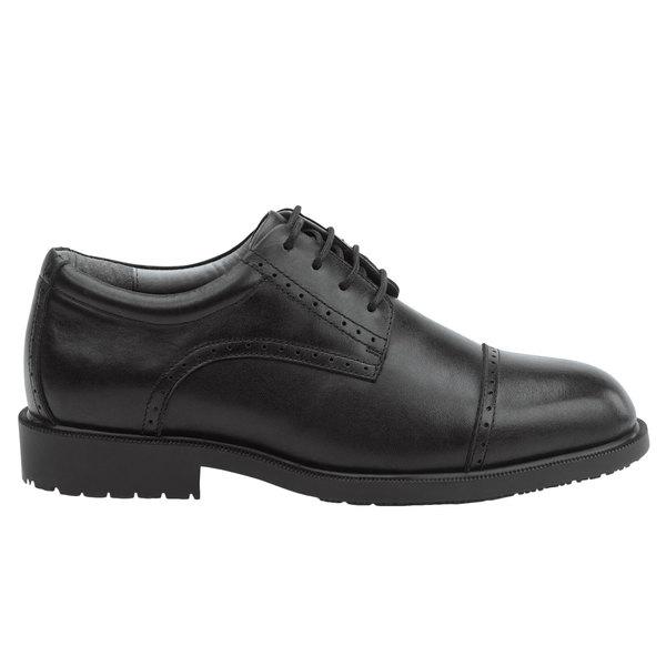 SR Max SRM3020 Augusta Men's Black Soft Toe Non-Slip Oxford Dress Shoe