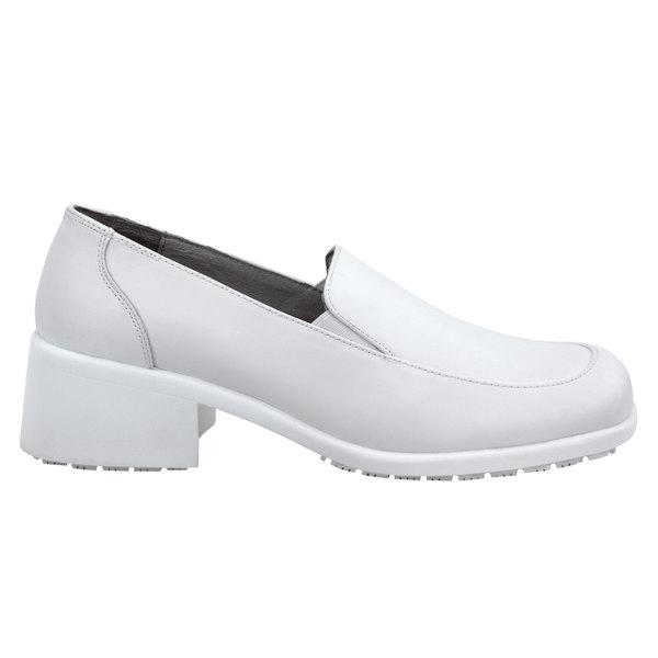 SR Max SRM534 Venice Women's White Soft Toe Non-Slip Dress Shoe Main Image 1