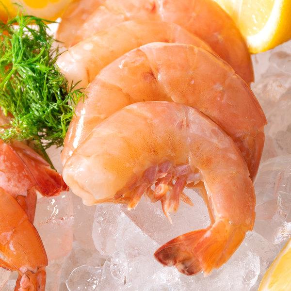 Linton's Seafood 1 lb. Wild-Caught Shell-On Raw Gulf Jumbo Shrimp Main Image 5