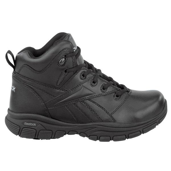 Reebok SRB125 Senexis MaxTrax Women's Black Soft Toe Non-Slip Hi Top Athletic Shoe