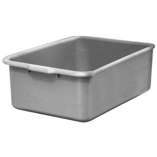 "Channel BB5 21 3/4"" x 15 3/4"" x 5"" Gray Polyethylene Bus Box Main Image 1"