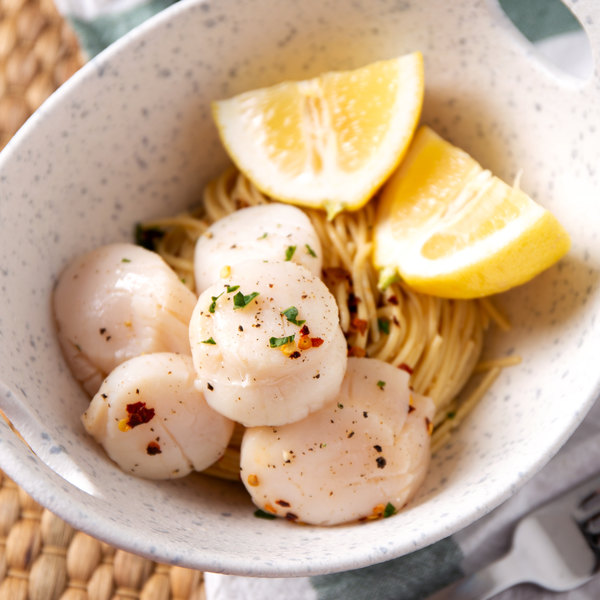 Linton's Seafood 1 lb. Fresh Sea Scallops