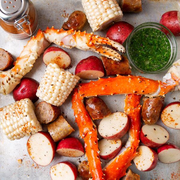 Linton's Seafood 10 lb  Frozen Alaskan King Crab Legs