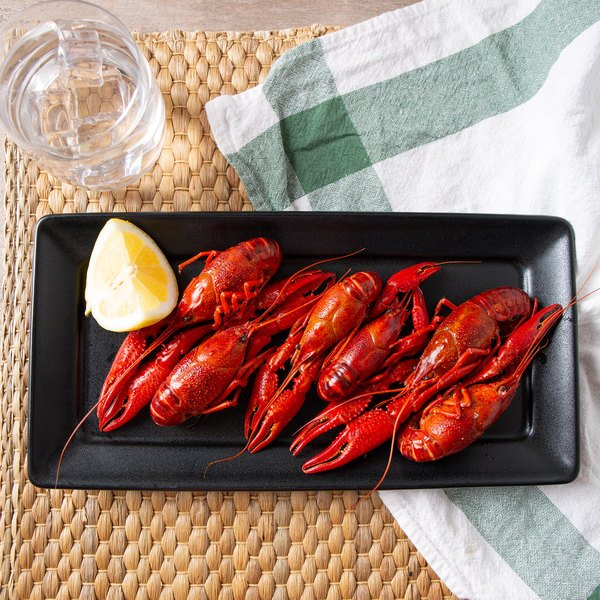 Linton's Seafood 12 lb. Cooked and Seasoned Crawfish