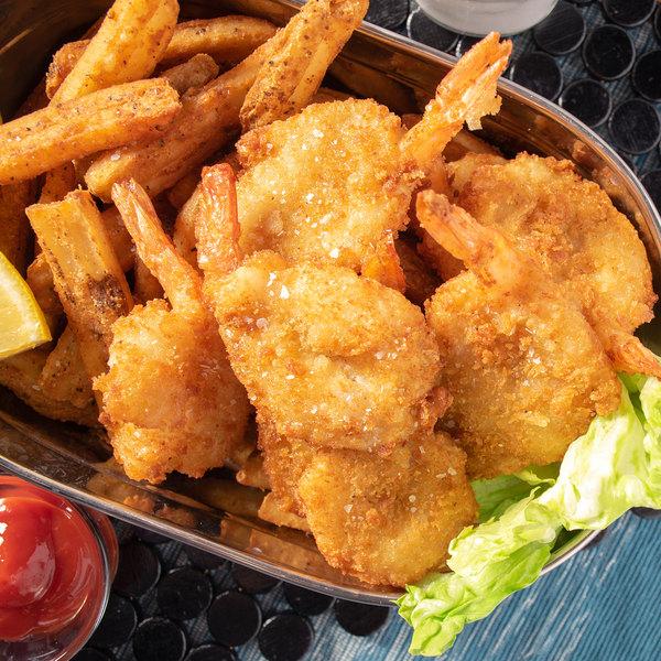 Linton's Seafood 3 lb. Wild-Caught Jumbo Breaded Shrimp Main Image 8