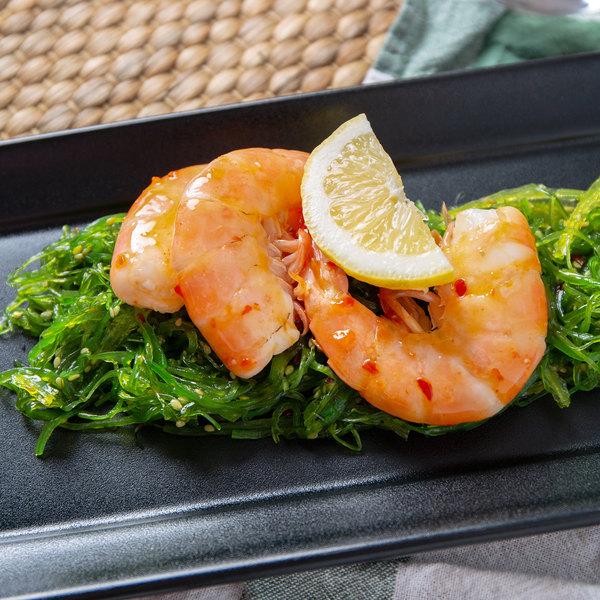 Linton's Seafood 5 lb. Wild-Caught Shell-On Raw Gulf Medium Shrimp Main Image 3