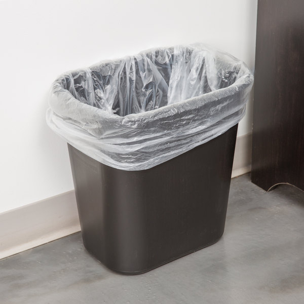 21 Qt Large Open Wastebasket Rubbermaid Fg295600Bla 28 Qtblack Rectangular Wastebasket  Trash Can