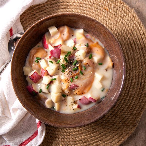 Linton's Seafood 1 Gallon Shucked Chowder Clams Main Image 1