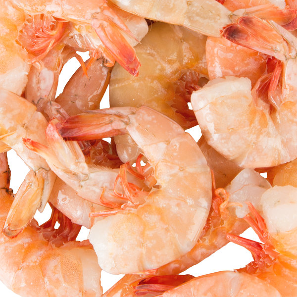 Linton's 5 lb. 26-30 Size Wild-Caught Shell-On Raw Gulf X-Large Shrimp