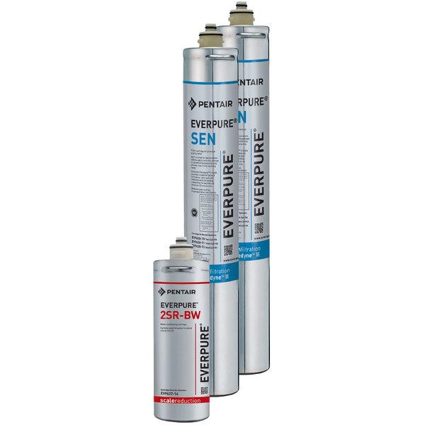 Everpure EV9628-80 Twin SC Endurance Filter Cartridge Kit, 0.5 Micron and 7.5 GPM Main Image 1