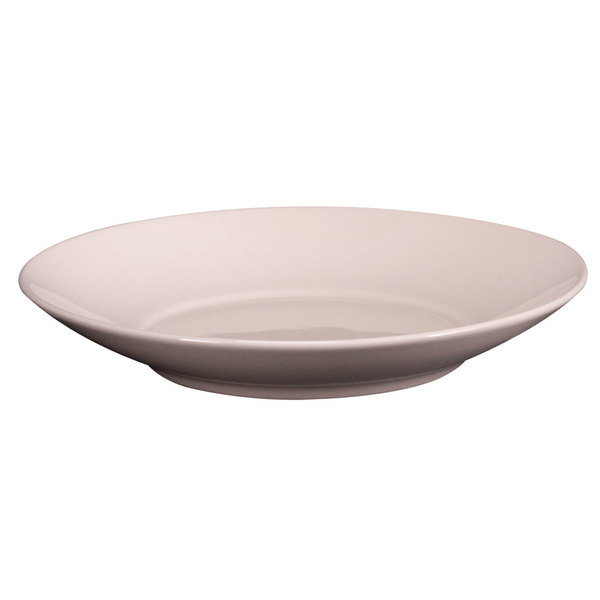 Homer Laughlin 08100 Unique 1.6 Qt. Ivory (American White) China Options Bowl - 12/Case