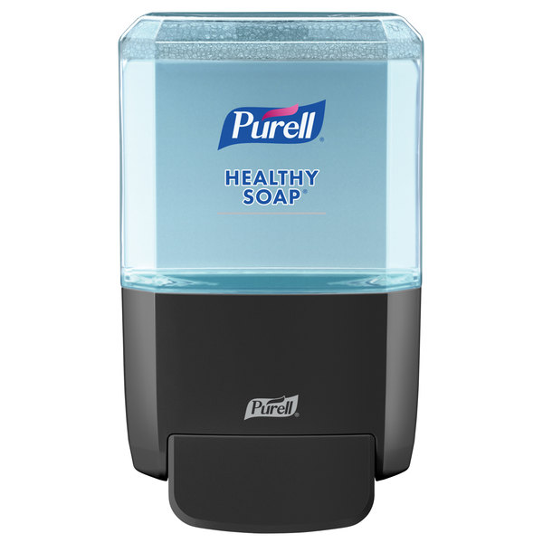 Purell 5034-01 Healthy Soap ES4 1200 mL Black Manual Hand Soap Dispenser Main Image 1