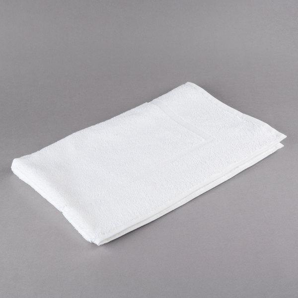 lot of 12 new white ultra soft hotel bath mats 7# 20x30