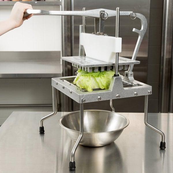"Vollrath 4400N Redco Lettuce King IV 1"" x 1"" Vegetable Chopper Main Image 4"