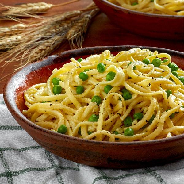 Little Barn Noodles 1 lb. Homemade Medium Egg Noodles - 6/Case Main Image 2