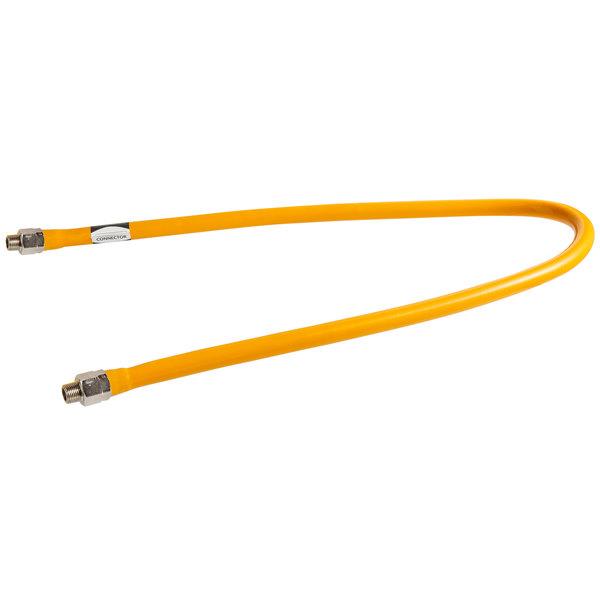 """Regency 60"""" Mobile Gas Connector Hose - 1/2"""""""