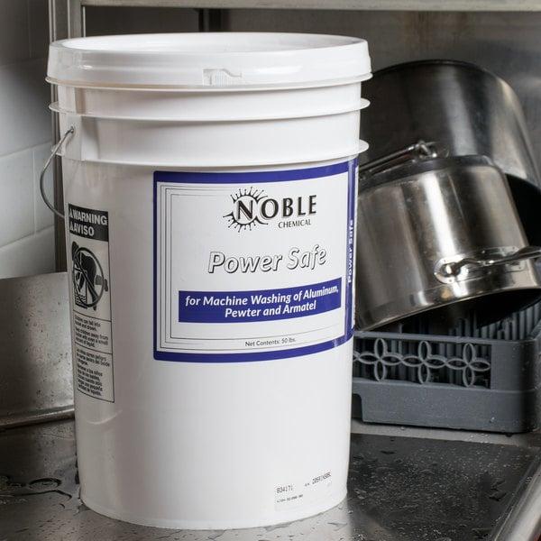 Noble Chemical Power Metal Safe Detergent 50 lb. / 800 oz.