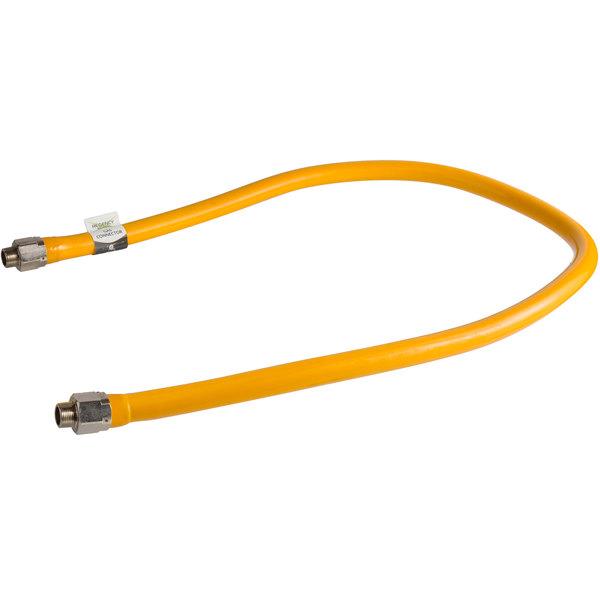 """Regency 72"""" Mobile Gas Connector Hose - 3/4"""""""