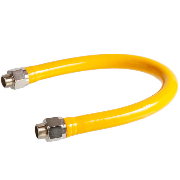"""Regency 36"""" Mobile Gas Connector Hose - 1"""""""