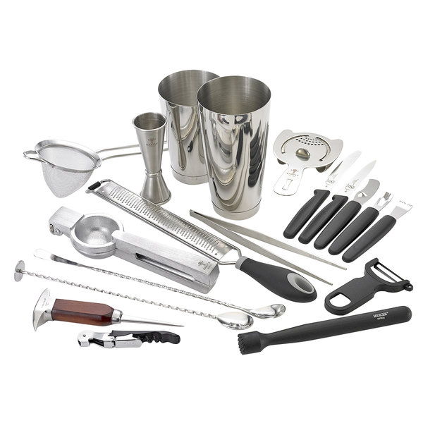Barfly M37102 Deluxe 19-Piece Stainless Steel Cocktail Kit Main Image 1