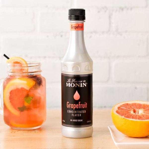 Monin 375 mL Grapefruit Concentrated Flavor