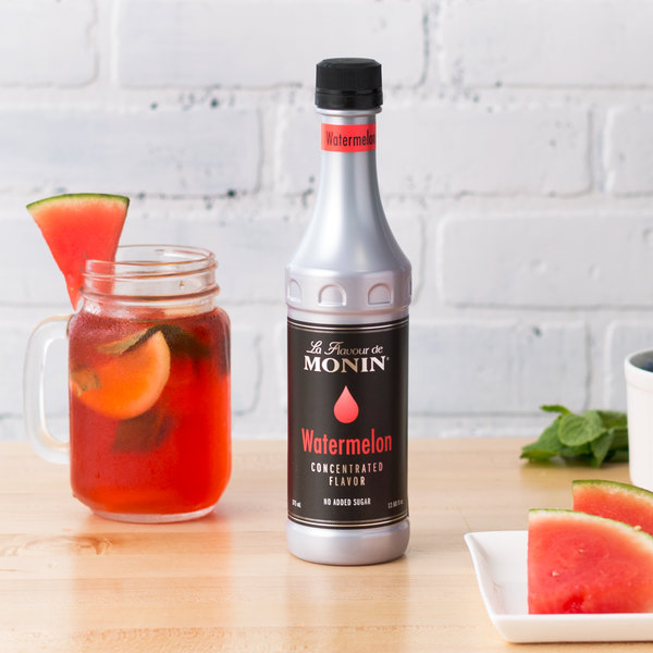 Monin 375 mL Watermelon Concentrated Flavor Main Image 2