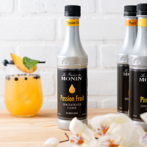Monin 375 mL Passion Fruit Concentrated Flavor