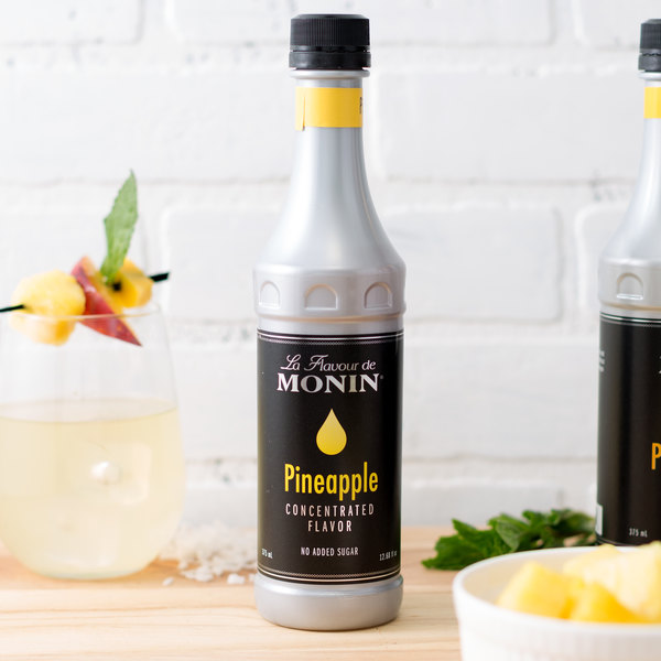 Monin 375 mL Pineapple Concentrated Flavor