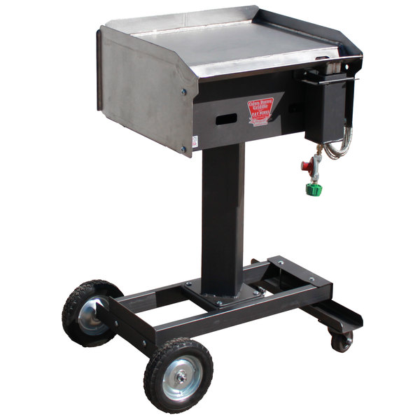 "R & V Works CBG-RG Cajun Bayou 20"" Liquid Propane Outdoor Griddle - 90,000 BTU Main Image 1"