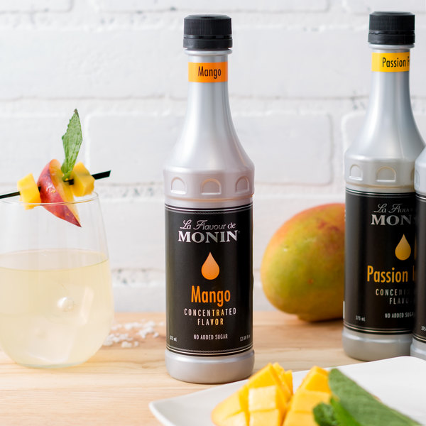 Monin 375 mL Mango Concentrated Flavor Main Image 2