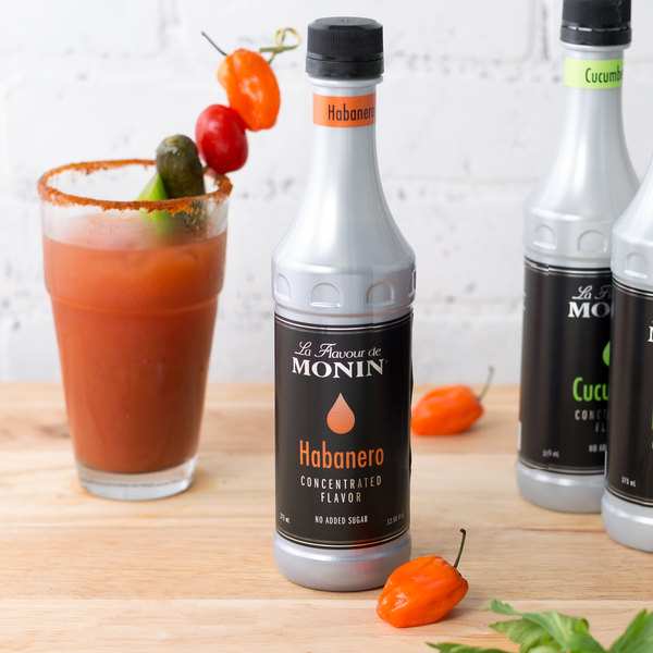 Monin 375 mL Habanero Concentrated Flavor Main Image 2