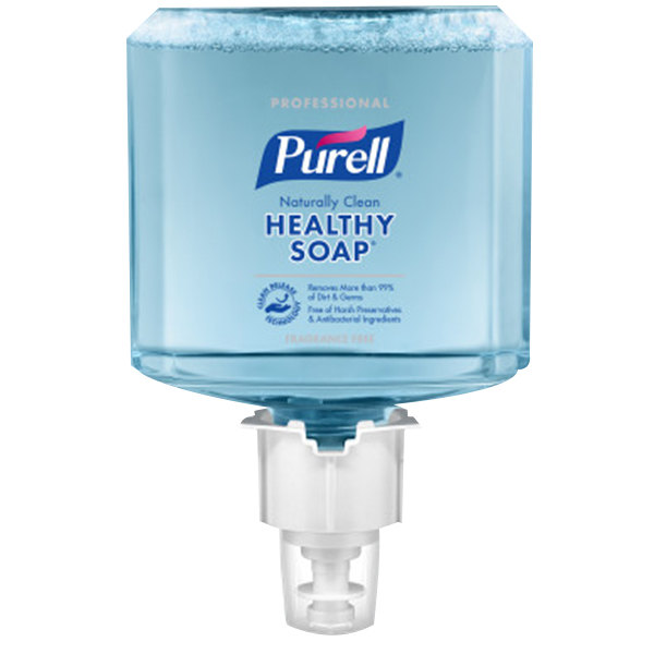 Purell® 5070-02 Professional CRT Healthy Soap™ ES4 1200 mL Fragrance Free Naturally Clean Foam Hand Soap - 2/Case