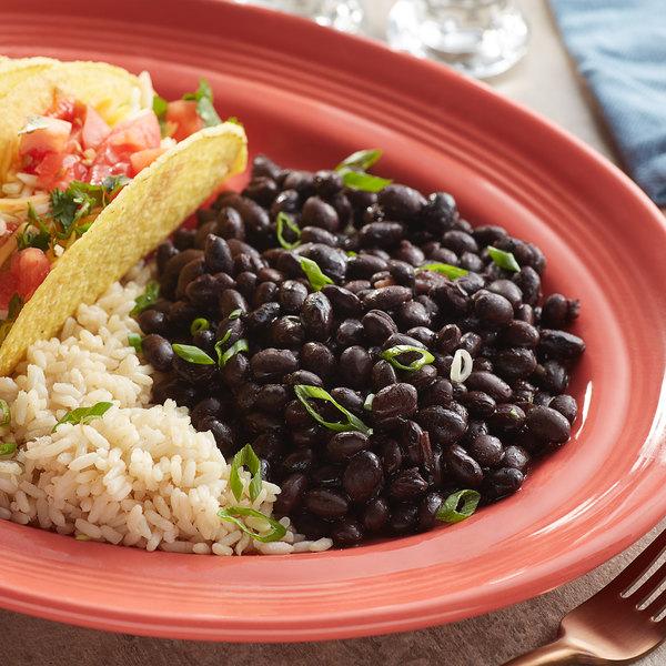 Furmano's 110 oz. Pouch Organic Black Beans in Brine - 6/Case Main Image 2