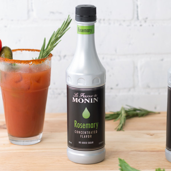 Monin 375 mL Rosemary Concentrated Flavor Main Image 2