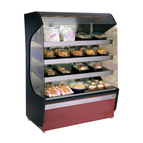 """Alto-Shaam HSM-48/4S 48"""" Reach-In Heated Display Case with 4 Shelves - 208/240V Main Image 1"""