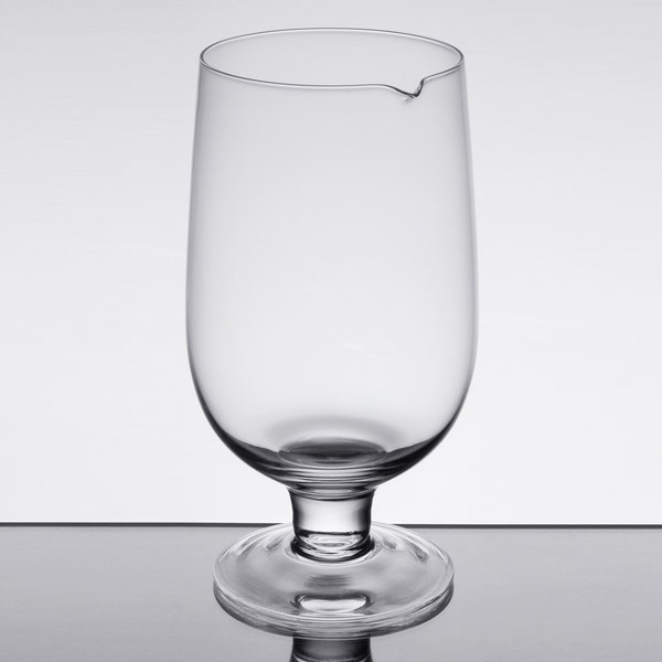 American Metalcraft MGS30 30 oz. Clear Stemmed Mixing Glass Main Image 1