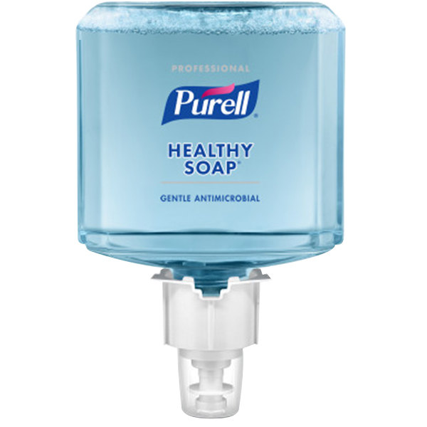 Purell® 5079-02 Healthy Soap® Professional ES4 1200 mL Antimicrobial Foam Hand Soap - 2/Case