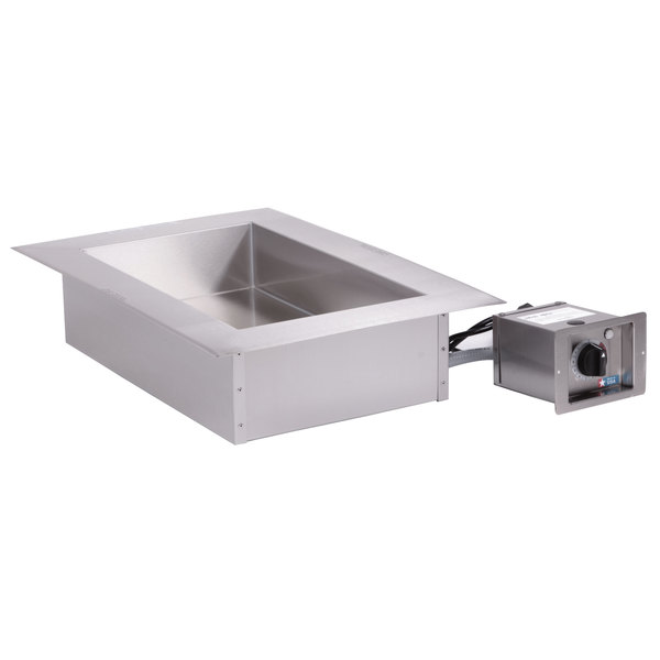 """Alto-Shaam 100-HWLF/D4 1 Pan Drop-In Hot Food Well with Large Flange - 4"""" Deep Pans, 120V Main Image 1"""