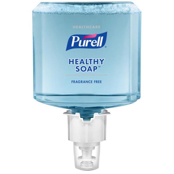 Purell® 6472-02 Healthy Soap® Healthcare ES6 1200 mL Gentle & Free Foaming Hand Soap - 2/Case