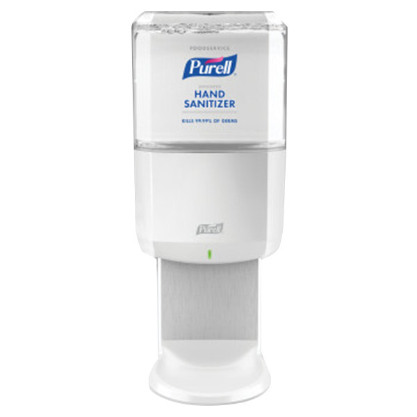 Purell® 6455-1W Advanced Foodservice ES6 1200mL White Automatic Hand Sanitizer Dispenser with Foaming Hand Sanitizer